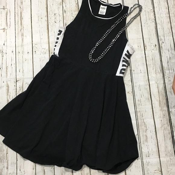 PINK Victoria's Secret Dresses & Skirts - Victoria's Secret Pink Sleeveless Black Dress